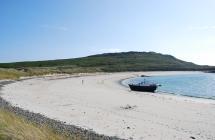 Saye Beach in Alderney, Channel Islands