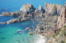 Alderney cliffs